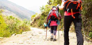 Scarpe per il trekking