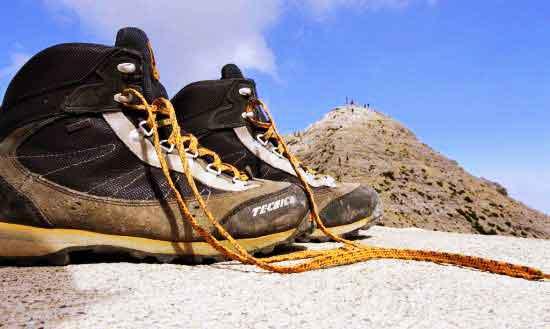 Scarpe per il trekking Tecnica