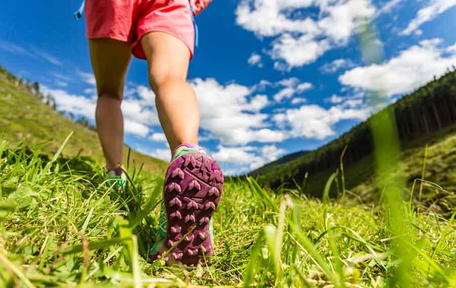 Scarpe estive per escursioni
