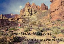 Trail running con La Sportiva Mutant