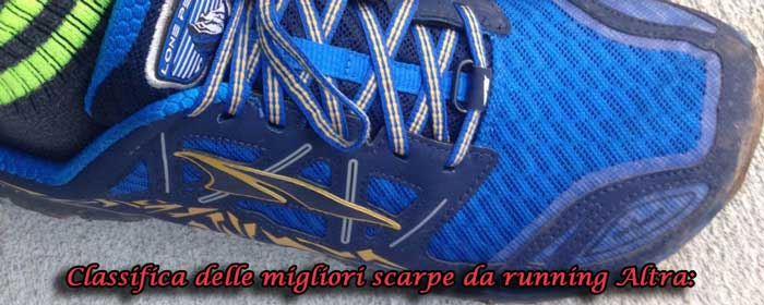 Recensione delli migliori scarpe da corsa Altra