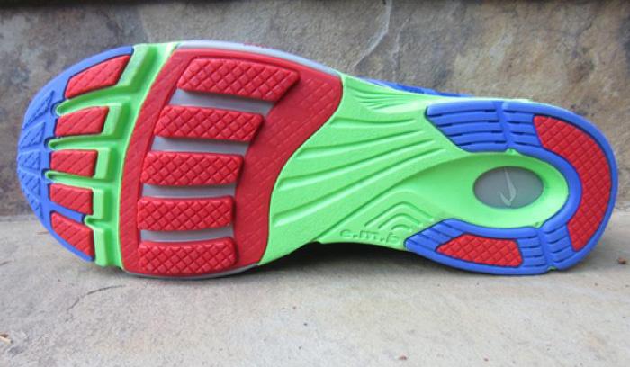 Suola delle scarpe da corsa Newton