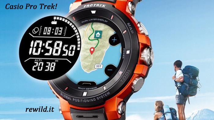 Sport Watch Casio Pro Trek Smart