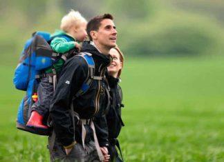 Zaino da trekking porta bambini
