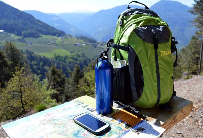 Zaino da escursionismo e trekking