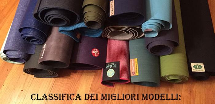 Classifica dei migliori tappetini da yoga