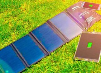 Carica batteria solare