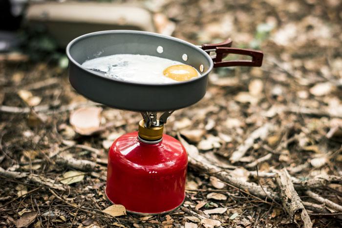 Fornello a gas da campeggio