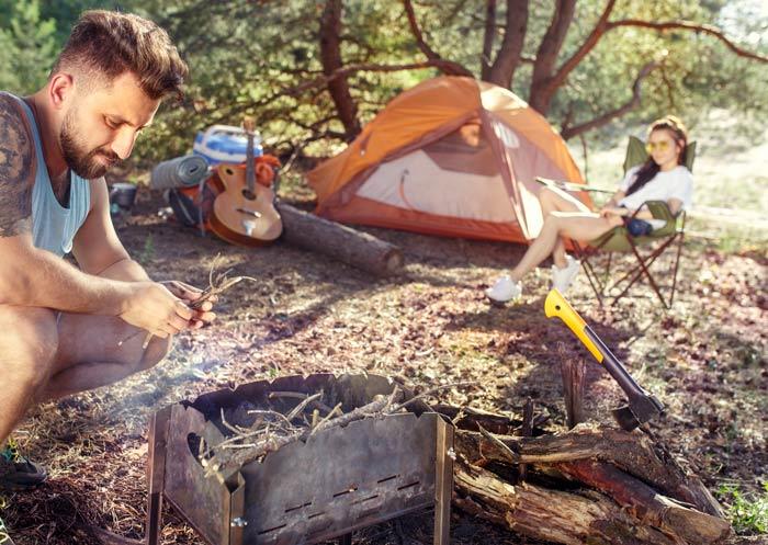 Frigo portatile da campeggio