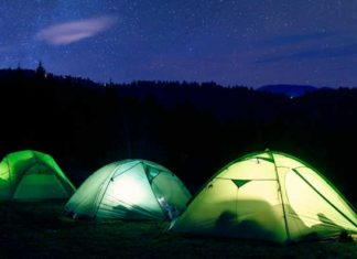 Lampada da campeggio