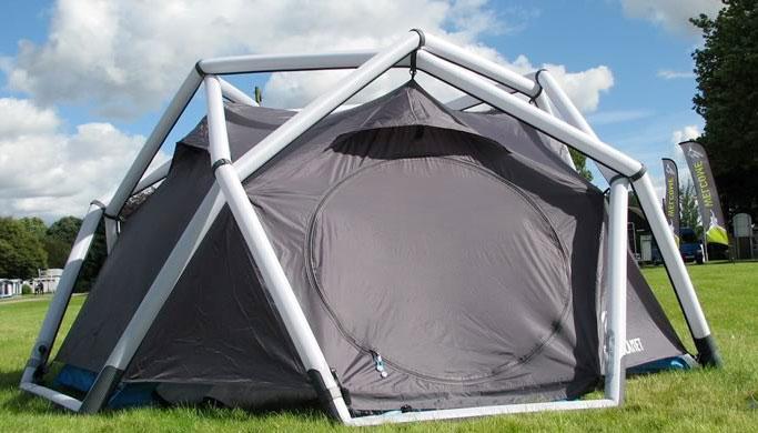 Tenda da campeggio gonfiabile