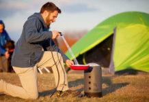 Doccia da campeggio