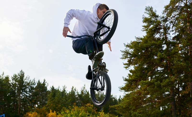 Bici bmx da freestyle