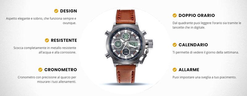 Funzioni di Xtechnical Watch