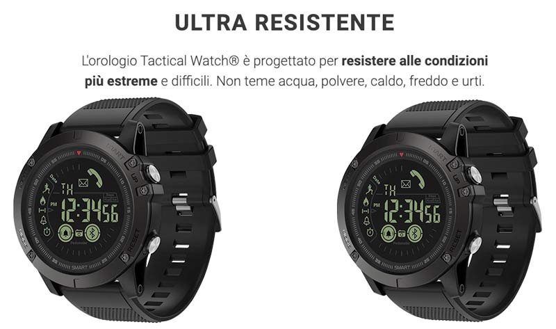 Orologio tattico X Tactical