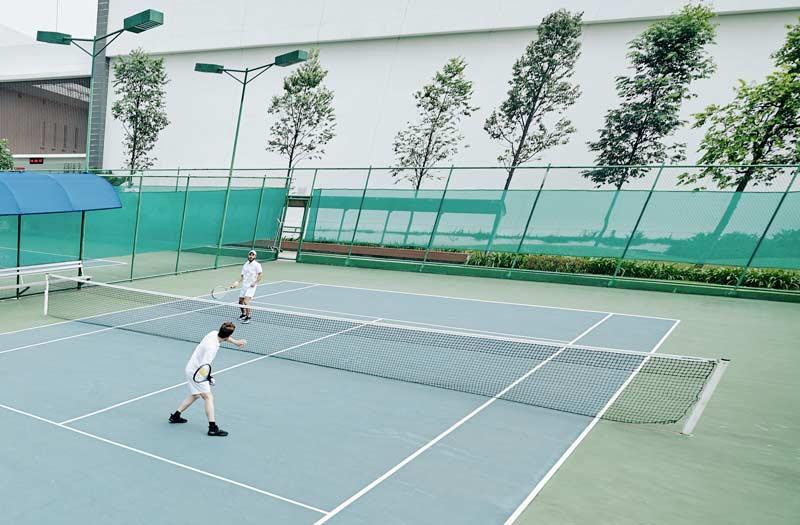 rete da tennis professionale