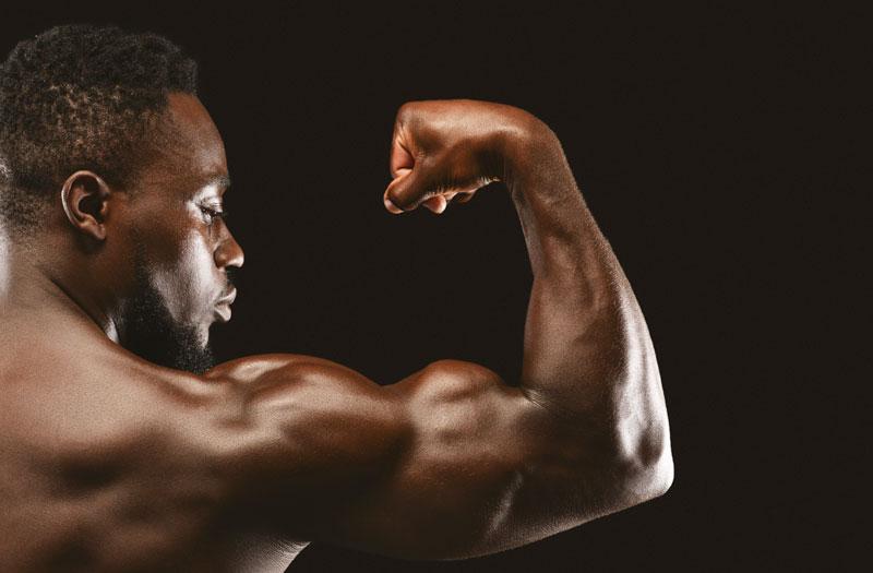 Muscoli fatti con la panca mutlifunzionale
