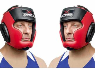 Casco da Kick Boxing e Boxe