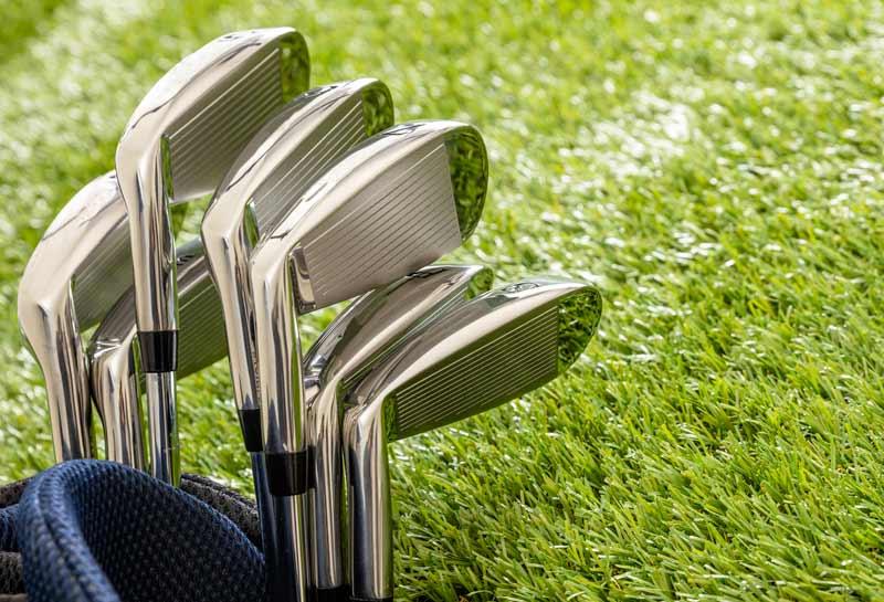 Diverse tipologie di mazze da golf