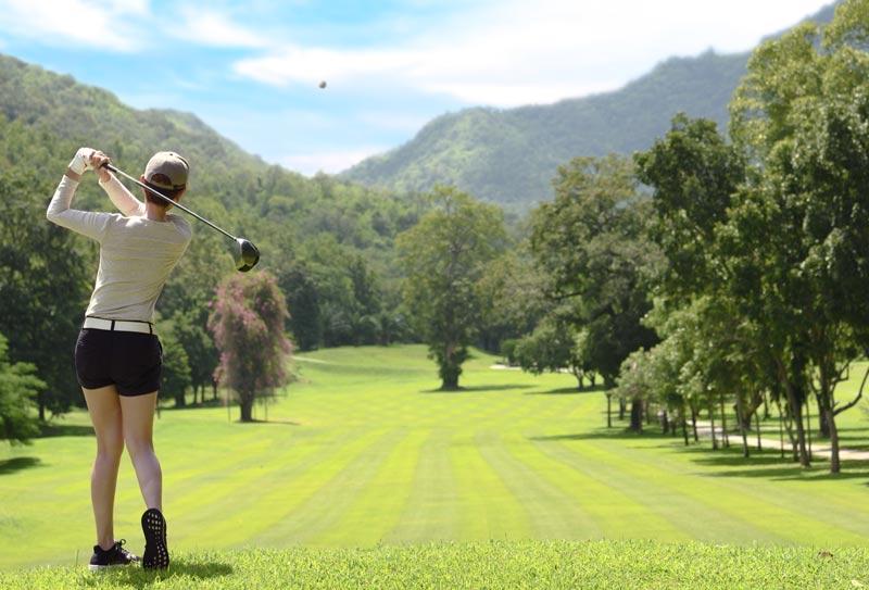 Pantaloncini per giocare a golf