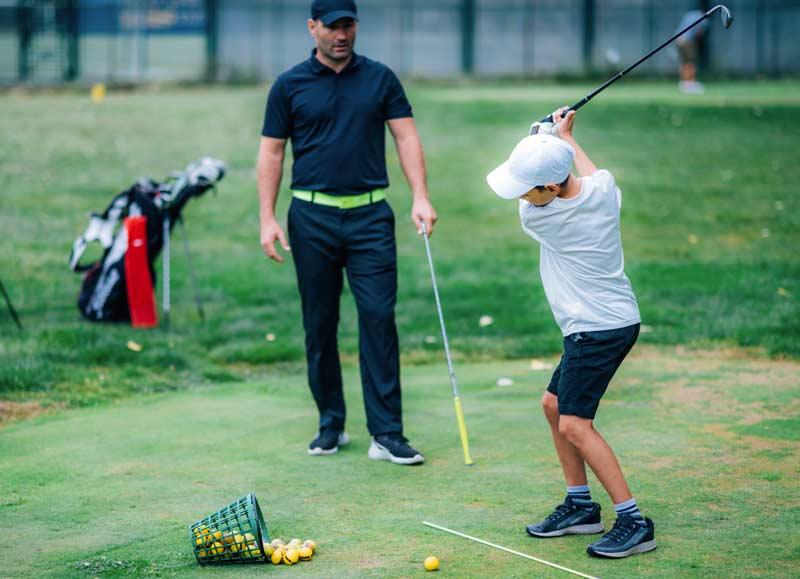 Rete da golf da allenamento
