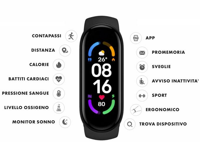 funzioni dell orologio 6 Compact Watch